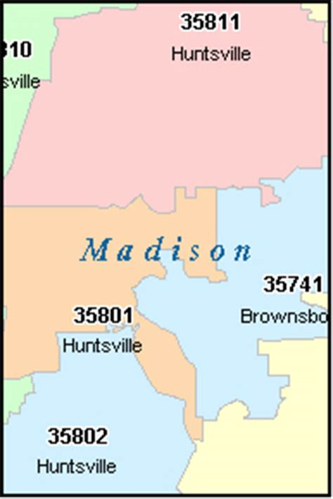 huntsville alabama al zip code map downloads