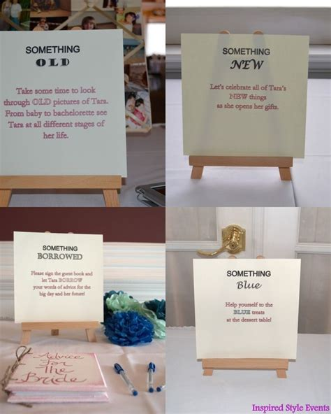 Unique Bridal Shower Theme Ideas by 17 Best Ideas About Something On Something Borrowed Wedding Planning Pictures