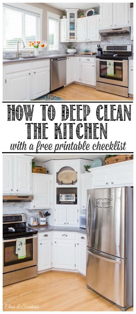 Deep Clean Kitchen Cabinets | how to deep clean the kitchen stove corner cabinets and