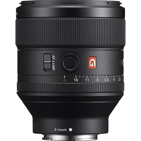 Lensa Sony Fe 85mm F 1 4 Gm sony sel85f14gm fe 85mm f 1 4 gm