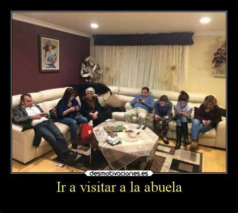 imagenes graciosas familia ir a visitar a la abuela desmotivaciones