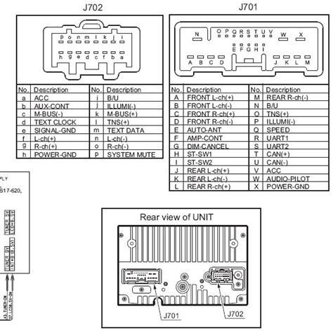 Clarion Cc45 66arx Pt 2674j Pinout Diagram Pinoutguide Com