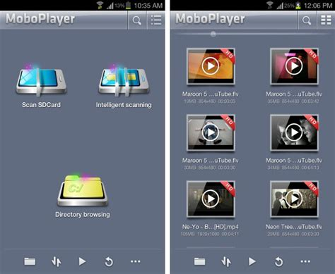 format audio visual moboplayer multi format audio and video player for android