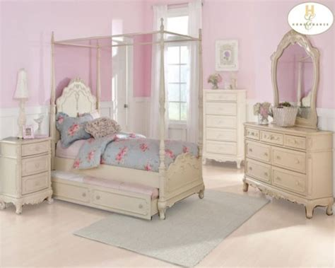 cinderella bedroom furniture homelegance canopy poster bedroom set cinderella el 1386pp