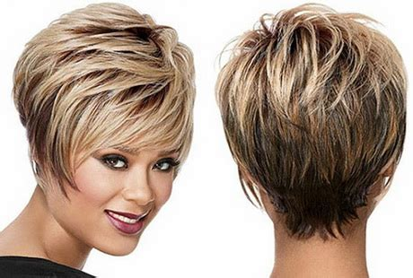 short haircuts showing pic of back of head back view shag haircut newhairstylesformen2014 com