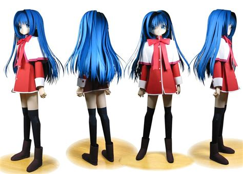 Anime Papercrafts - anime papercraft figures