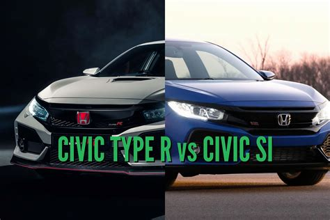 honda civic type    differences  side  side comparison   axles