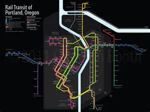 rail transit of portland oregon here s a new transit