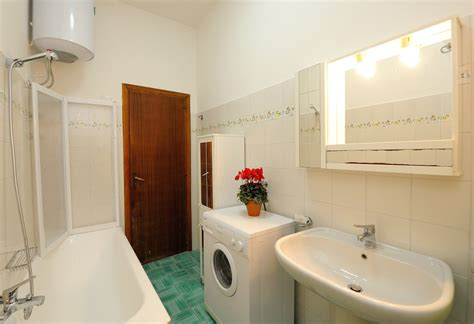 first night in bathroom blue flowers a amalfi coast vacation houses rental