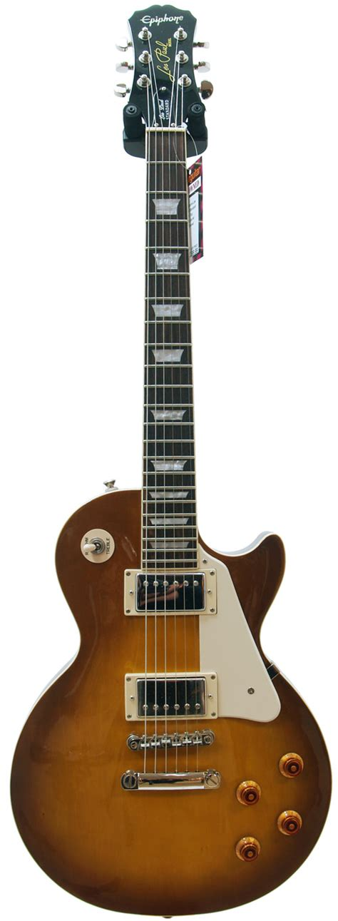 best pre for electric guitar epiphone les paul standard plain top honeyburst pre owned