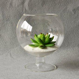 Ikea Firande Vas Kaca Bening Hitam vas kaca bening bulat gantung botol terarium bunga