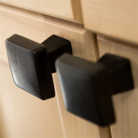 square kitchen cabinet knobs knobs4less com offers amerock ame 61602 knob black bronze