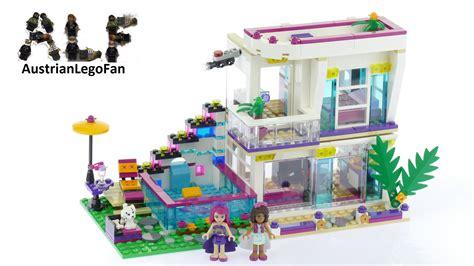 star house lego friends 41135 livi s pop star house lego speed