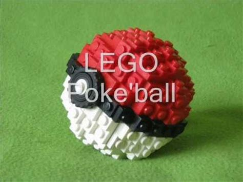 lego pokeball tutorial lego poke ball youtube