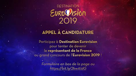 destination eurovision goes on for eurovision 2019