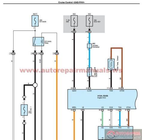 toyota 2006 2012 electrical wiring diagram uk