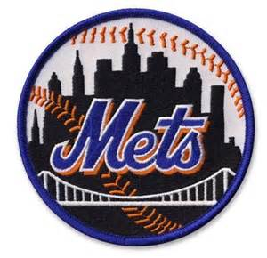 Mlb Mets Standings by New York Mets Mlb Baseball Team Logo Patch Black With