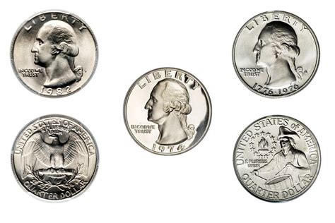 How Much Is 200 Quarters Clad Washington Quarter Values And Prices 1965 1998