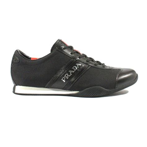 prada shoes prada sports mens shoes designer black sneakers 4e1745 prm48