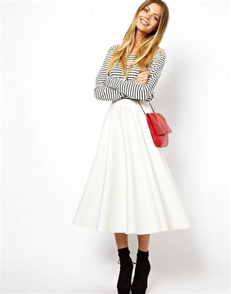 white midi skirt i d wear that and that aannndd that