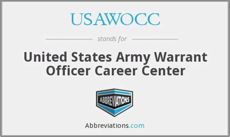 United States Warrant Search Usawocc United States Army Warrant Officer Career Center