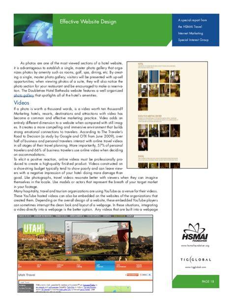 effect website design hsmai travel effective website design