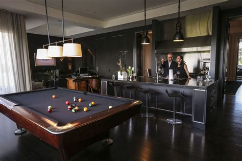Bar Billiard Room by Elte S Owners Source Furnishings For Their Home Globally