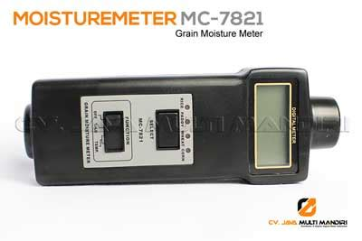 Led Bijian alat ukur kadar air temperature meter mc 7821