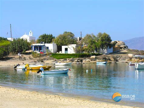 on the beach agia anna beach naxos