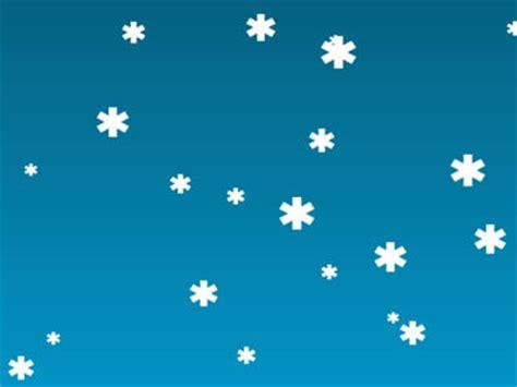 html javascript christmas snow background articles