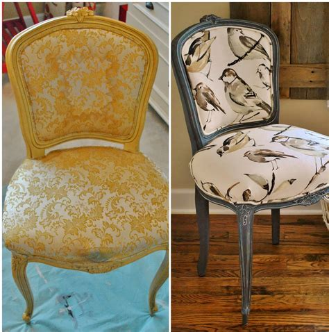 upholstery before and after sophia s french chair reupholstery makeover and tutorial