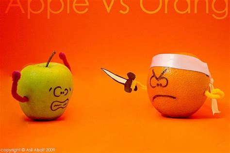 Comparing Apples To Oranges by How To Stop Comparing Yourself To Others In 2 Easy Steps