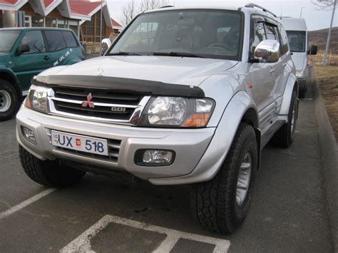 how it works cars 2001 mitsubishi pajero parental controls hans 2001 mitsubishi pajero specs photos modification info at cardomain