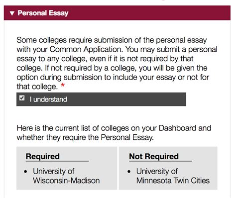 Common Apps Essay Questions by U Of M Office Of Admissions Common App Faq