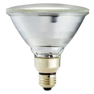 Outdoor Light Bulb Types Philips 90 Watt Equivalent Halogen Par38 Indoor Outdoor Spotlight Bulb 421263 The