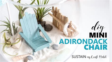 How To Make Chairs - how to make the cutest diy mini adirondack chairs for a