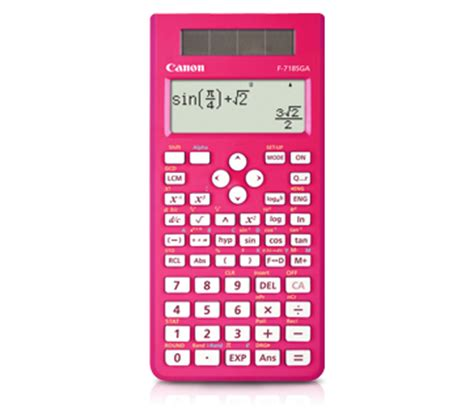Calculator Canon F 718s Series Canon Scientific Calculator F 718s C End 7 8 2017 9 03 Am