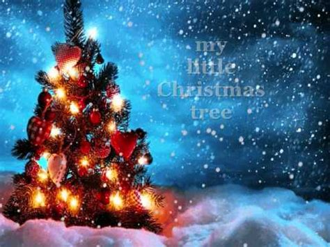 little christmas tree jose mari chan lyrics youtube