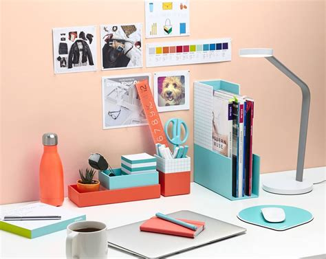 decorative office desk accessories use simple fun diy cubicle decor ideas to emphasize your