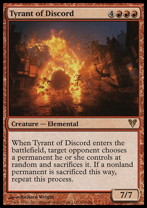 Giveaway Bot Discord - tyrant of discord avr 0 40 0 96 from mtg avacyn restored