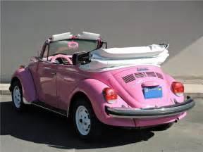 pink convertible volkswagen 1977 volkswagen beetle custom convertible 177630