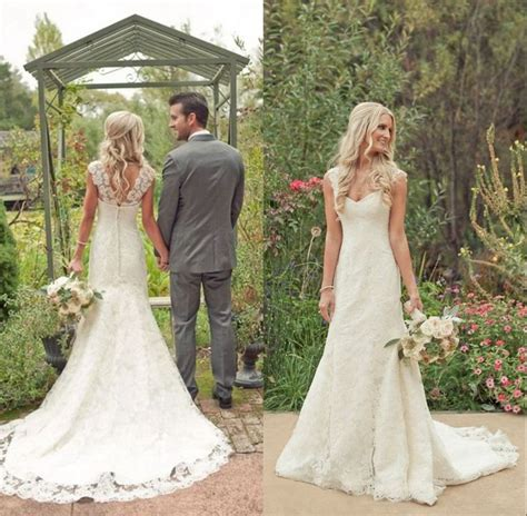 lace country style dresses best 25 ivory lace wedding dress ideas on
