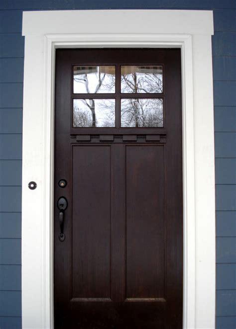 brown front door cherry tree rd traditional front doors other metro by hiday custom builders llc