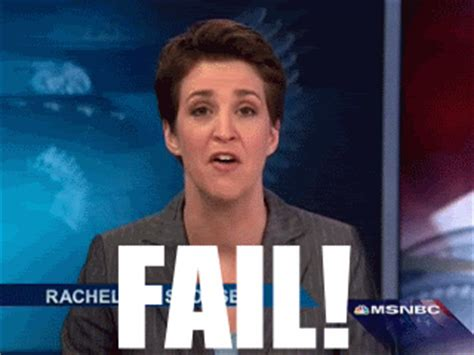 Rachel Maddow Meme - fail gifs find share on giphy