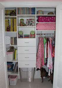 how to organize a small closet pictures