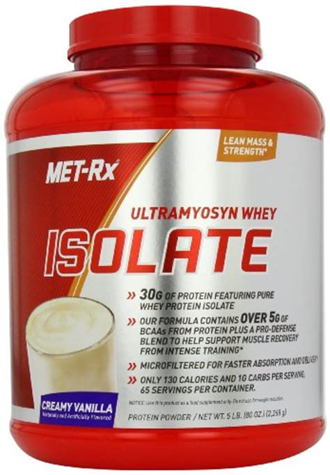 Met Rx Ultramyosyn Whey Isolate whey protein concentrate vs isolate