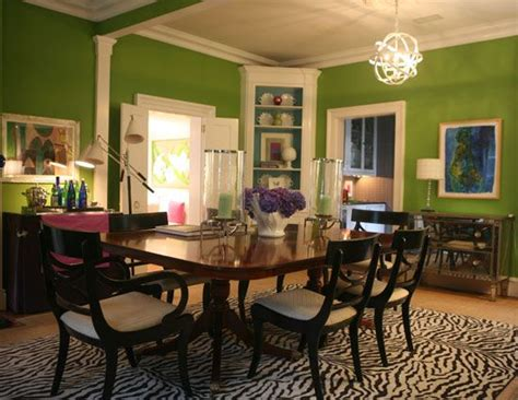 Green Dining Room Wall Green Dining Room Walls Dining Rooms
