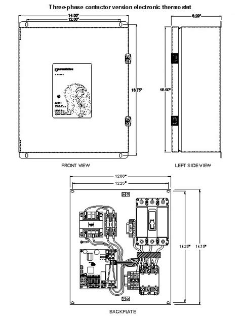 thermostat for heat trace wiring diagram thermostat free