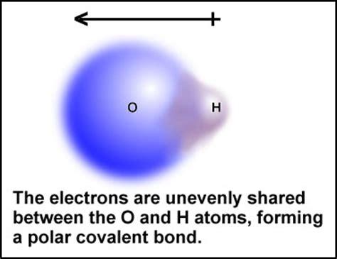 which electron dot diagram represents a polar molecule warren s oac chem page