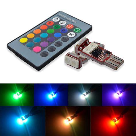 Lu Led T10 Rgb Rgb t10 led bulbs rgb multi color socal led lighting